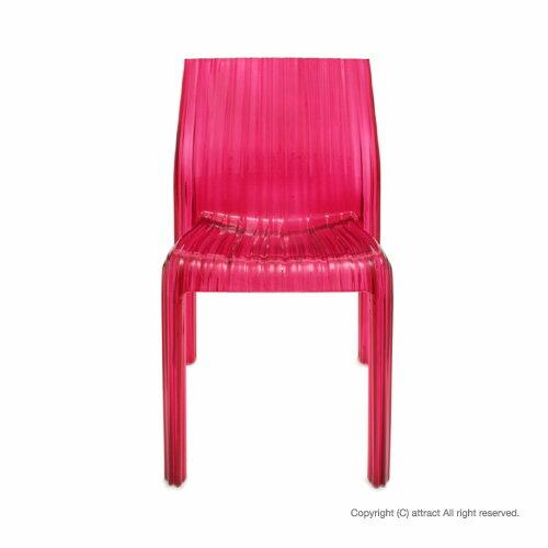 カルテル 高知 Kartell FRILLY フリーリー チェア 椅子 FRIL-5880 カラー:フクシア ピンク デザイナー:パトリシア・ウルキオラ デザイナーズ インテリア ダイニング モダン 【RCP】【smtb-KD】