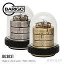 バリゴ BARIGO Barometer Thermo-Hygrometer 温湿気圧計 サイズ:Φ90mm カラー:ゴールド シルバー BG3031 ドーム型気象計・卓上 ドイ..