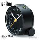ブラウン BRAUN 【正規取扱店】 Alarm clock アラームクロック 置時計 目覚まし時計 テーブルクロック BNC001 カラー:ブラック ホワイト ブルー デザイン:デートリッヒ・ルブス ドイツ製クオーツ AB5 1990年