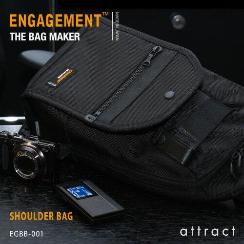 エンゲージメント ENGAGEMENT エンゲージド・ナイロン Engaged Nylon Shoulder Bag ワンショルダーバッグ ボディバッグ カラー:3色 EGBB-001 耐久性 軽量 撥水 止水 ジェットセッター 【RCP】【smtb-KD】