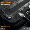 エンゲージメント ENGAGEMENT エンゲージド・ナイロン Engaged Nylon 3way Briefcase 3way ブリーフケース バックバック...
