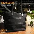 【正規取扱店】ENGAGEMENT(エンゲージメント) Engaged Nylon(エンゲージド・ナイロン)Tote Bag(トートバッグ)ノートPC対応カラー:3色 EGTT-002(耐久性/軽量/撥水/止水/ジェットセッター)【smtb-KD】