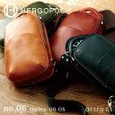 エルゴポック HERGOPOCH 06 Series 06シリーズ Waxed Leather ワキシングレザー 3way ワンショルダー バッグ 06-OS ボディバッグ ショ…