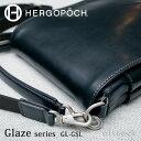 エルゴポック HERGOPOCH Glaze Series グレイズシリーズ Glazed Leather グレイズドレザー フラップショルダーバッグ ハンドル...