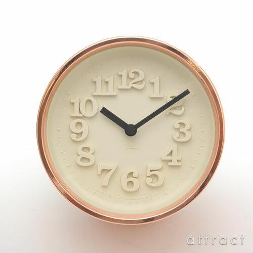 レムノス Lemnos タカタ 小さな時計 銅 ブロンズ WR11-05 置時計 壁掛け時計 掛時計 時計 ウォールクロック デザイン:渡辺力 スタンド付属 インテリア 【RCP】【smtb-KD】