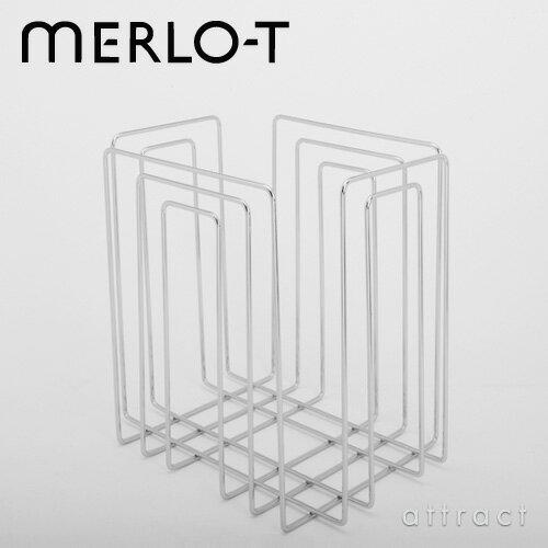 MERLO-T メルロー Paper Collector マガジンラック B4サイズ・新聞紙対応