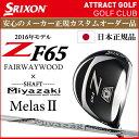 【新品】【送料無料】【メーカー正規カスタム品】スリクソン Z F65フェアウェイウッド