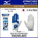 【新品】【2016年モデル】ミズノ アイスタッチ クール手袋5MJML60314 (ICE TOUCH グローブ)[MIZUNOGOLFGLOVE5MJML60314]
