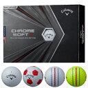 キャロウェイ NEW クロムソフト X 2020 ゴルフボール1ダース/12個入り Callaway CW CHROME_SOFT_X_BALL