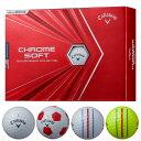 キャロウェイ NEW クロムソフト 2020 ゴルフボール1ダース/12個入り Callaway CW CHROME_SOFT_BALL グラフェン