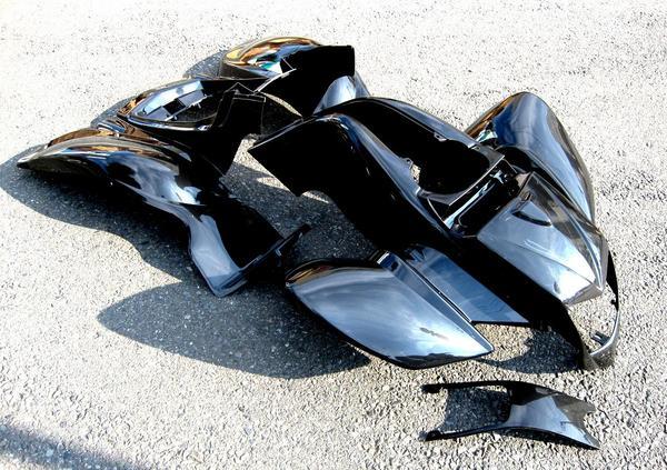 バギー併用フルサイズカウル外装タイプ2新品黒