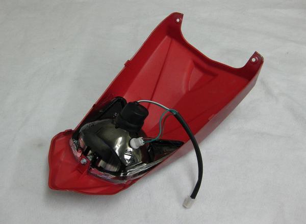 バギー用ヘッドライトカウル外装セット赤タイプ2の紹介画像2