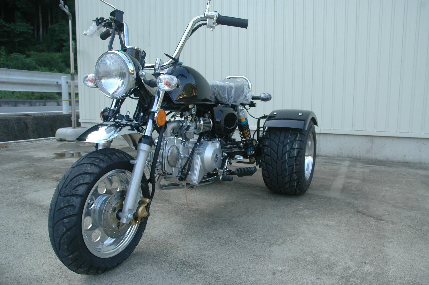 モンキートライクデフ付 125cc 前進4段 ...の紹介画像2