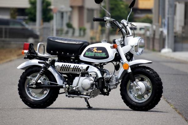 モンキー風ローダウンカスタムバイク 50cc