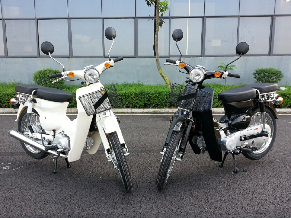 復活 スーパーカブ 50cc&110cc ホワイト