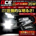 [N]ACE HID 35W H1/H3/H7/H8/H11/HB3/HB4世界最小クラスICデジタルバラスト【安心の1年保証】【送料無料】