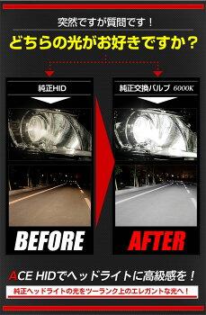 純正HID交換用バルブD4SヘッドライトACEHID簡単装着UVカット【新型モデル/安心の1年保証/HID/バルブ/6000K/8000K/送料無料】HIDは信頼と安心のユアーズで!