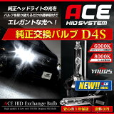 ���� HID ���ѥХ�� D4S �إåɥ饤�� ACE HID 2��1���å� ��ñ���塡UV���åȡڿ�����ǥ�/�¿���1ǯ�ݾ�/HID/�Х��/6000K/8000K/����̵����HID�Ͽ���Ȱ¿��Υ楢�����ǡ�