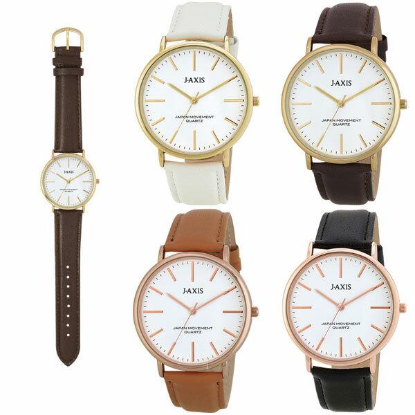BG1127 メンズ腕時計 スタイリッシュ 革ベルト ビッグフェイス レディース腕時計