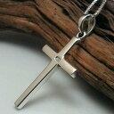 クロスネックレス メンズネックレス シルバーアクセサリー 十字架ネックレス シルバーネックレス シル