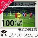 プロジェクタースクリーン100インチ (4:3)タペストリー式 HS-100ホワイトマットスクリーン日本製