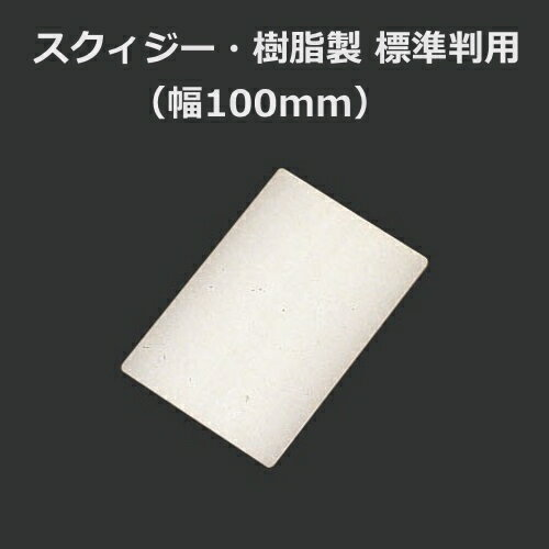 スクィジー・樹脂製 標準判(幅100mm)