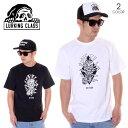 LURKING CLASS ラーキングクラス Tシャツ メンズ DIE HIGH TEE ST19ST07 春夏 ブラック/ホワイト S/M/L 【evi】