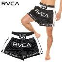 RVCA ルーカ ファイターパンツ メンズ RVCA MUAY THAI SHORT 2020春夏 ブラック S/M/L