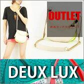 DEUX LUX / デュラックス ショルダー レザー バッグ BIBA SMALL MESSENGER 【 ミニバッグ 肩掛け 】【OUTLET】【B品】【訳あり】