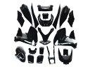 マジェスティ 250 (SG20J 4D91~4D94) スクーター 外装 カウル 塗装済み 黒色 22点セット NEW MAJESTY250 4D9