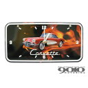 シボレー コルベット/Corvette C1 ナンバープレート型時計