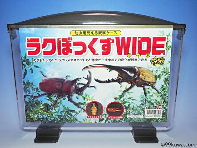 幼虫用見える観察ケース・ラクボックスワイドの商品画像