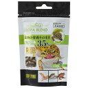【メール便なら4袋まで送料215円】 GEX レオパブレンドフード 60g 昆虫の栄養その