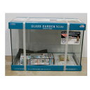 ≪数量限定≫水作 グラスガーデンN500 ニュースペースパワーフィットMセット フレームレスガラス水槽+水中フィルターセット サイズ:500×250×350mm