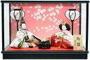 雛人形 コンパクトケース飾り 若草AB 親王飾り ひな人形【バリエーション豊富】...