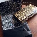 レザークリームプレゼント 所作 shosa 財布 コインケース カードケース コンパクトウォレット 水晶 クォーツ quartz sh401qu ブラック/シルバー/ゴールド