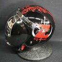 バブルミラーシールド付 OGKカブト BOB-K スペシャルコラボレーション ワンピースヘルメット FILM Z(BK)-20 送料無料