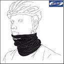 シームレスのサイクリングスカーフ。