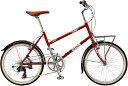 ジオス プルミーノ (レッド) 2020 GIOS PULMINO ミニベロ 小径自転車