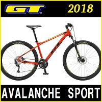 マウンテンバイク GT AVALANCHE SPORT (レッド) 2018 ジーティー アバランチェ スポーツの画像