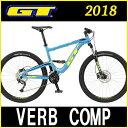 マウンテンバイク GT VERB COMP (ブルー) 2018 ジーティー ヴァーブ コンプ