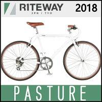 クロスバイク ライトウェイ パスチャー (グロスホワイト) 2018 RITEWAY PASTUREの画像