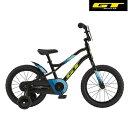 幼児用自転車 GT Runge 16 (ブラック) 2020 ジーティー ランジ16