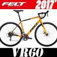 ロードバイク FELT (フェルト) VR60 (マットオレンジ) 2017 02P01Oct16 0824楽天カード分割