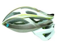 CRATONI / クラトーニ / C-BOLT シーボルト / Anthracite-white lime glossy (サイクルヘルメット)の画像