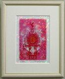 ピンク色天使の風水で恋愛運をアップ♪風水版画 IPCP 天使の風水 恋愛運吉岡浩太郎【楽ギフ包装】【楽ギフのし】【楽ギフメッセ】