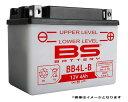 4サイクル バーディー 50 BA41A用 BSバッテリー BB4L-B (YB4L-B GM4-3B FB4L-B)互換 バイクバッテリー 液別開放式