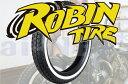 【セール特価】 ROBIN TIRE[ロビンタイヤ] 5.00-16 500-16 ホワイトリボンタイヤ【02P01Oct16】