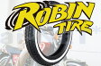 【CBX250】 ROBIN TIRE[ロビンタイヤ] 4.00-18 400-18 ホワイトリボンタイヤ