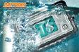 セール特価 バイク用【DAYTONA[デイトナ]】防水 コンパクトクロック EL バックライト付き デジタル時計 ブラックorクリア【62470/62469】あす楽
